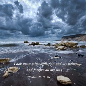 Life's Storms - Psalms 25:18
